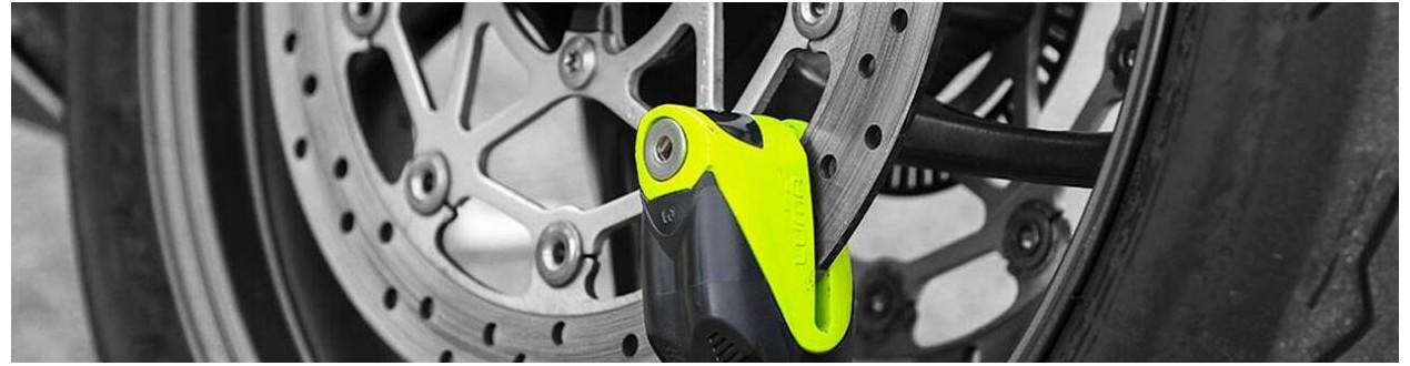 La seguridad de tu moto nos importa: candados antirrobo - Mototic
